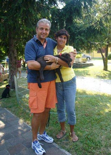 Famiglia Mazza con Fiona
