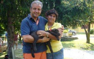 Famiglia Mazza e Fiona