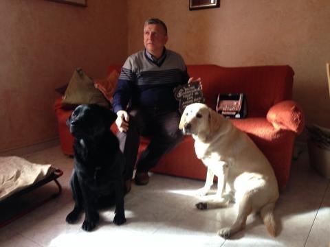 Vittorino e i suoi cani guida