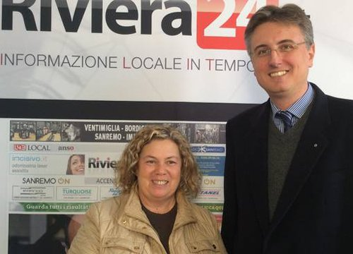 Loredana Maletta e Maurizio Cravaschino