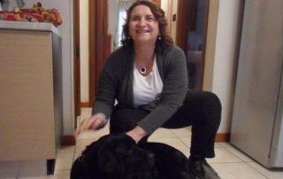Renata e York il suo cane guida