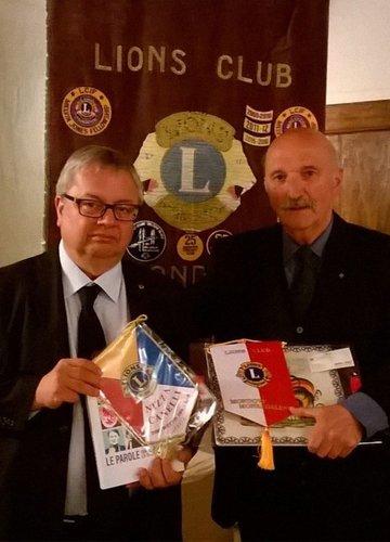 Oscar Bielli al Lions Club di Mondovì