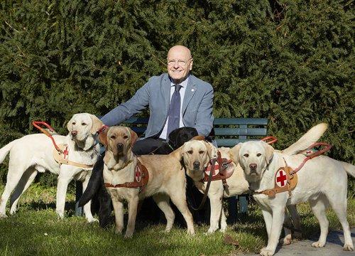 Giovanni Fossati Presidente Cani dei Lions