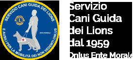 Servizio Cani Guida dei Lions Logo